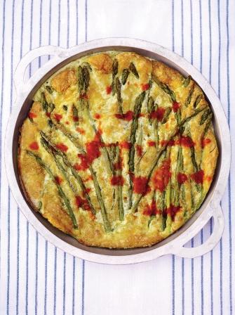 salmon asparagus quiche jamie oliver