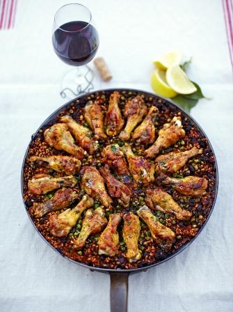 chicken paella chicken recipes jamie oliver