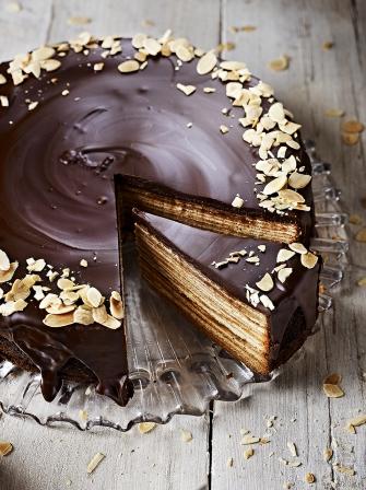 Baumkuchen Chocolate Recipes Jamie Oliver