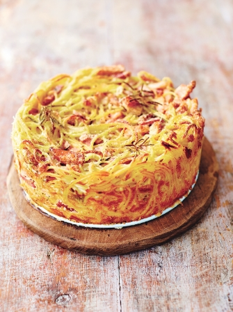 Carbonara cake Pasta recipes Jamie Oliver recipes