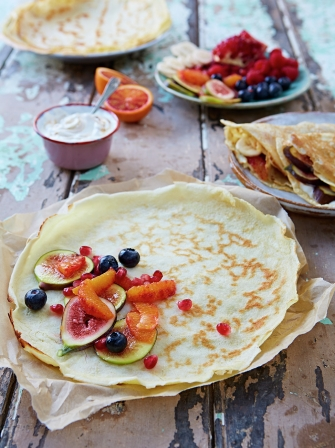 Easy pancakes eggs recipes jamie oliver easy pancakes ccuart Image collections