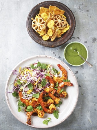 Spicy prawns seafood recipes jamie oliver recipes alesha dixons spicy prawns forumfinder Images