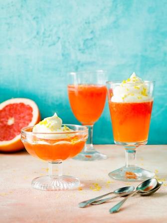 Aperol Amp Grapefruit Citrus Jellies Fruit Recipes Jamie Magazine Recipes