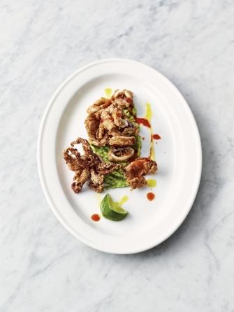 Crispy Squid And Smashed Avo Squid Recipes Jamie