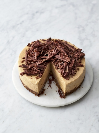 Frozen Banoffee Cheesecake Chocolate Recipes Jamie