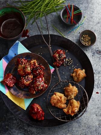 Korean fried chicken chicken recipes jamie magazine korean fried chicken forumfinder Image collections