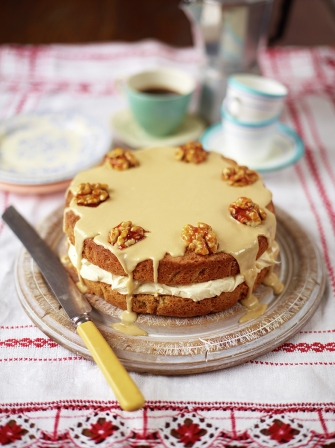 The best coffee and walnut cake Uncategorised recipes Jamie magazine
