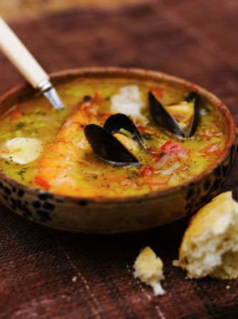 Seafood Soup Fish Recipes Jamie Oliver