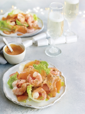 Smoked Salmon Prawns Amp Miami Cocktail Sauce Seafood Recipes Jamie Magazine Recipe