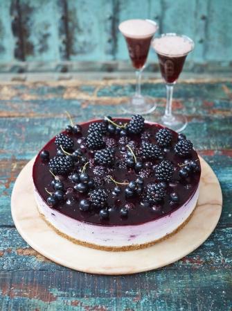 Blackcurrant Ombr 233 Cheesecake Fruit Recipe Jamie