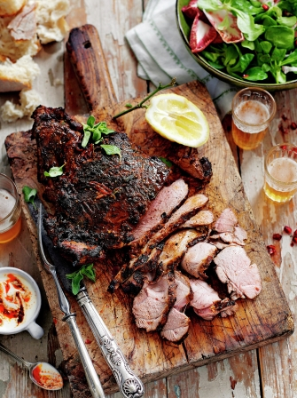 Butterflied leg of lamb | Lamb recipes | Jamie Oliver