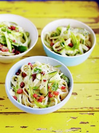 Spring veg pasta | Jamie Oliver