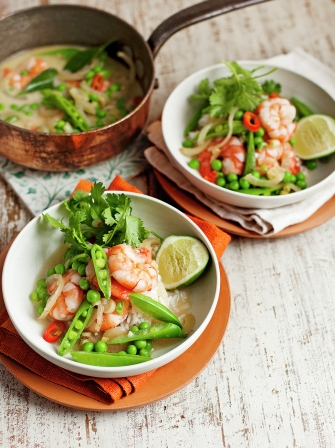 Prawn & coconut curry