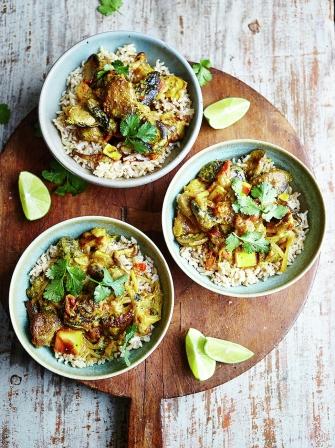 Mushroom curry | Jamie Oliver
