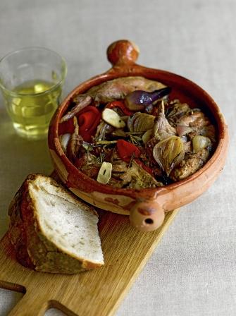 Spanish Rabbit Stew Game Recipes Jamie Magazine Recipes