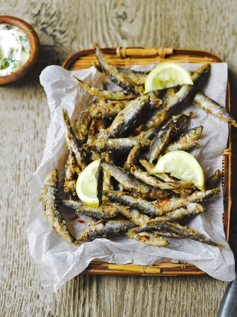 Whitebait And Dill Mayo Fish Recipes Jamie Magazine