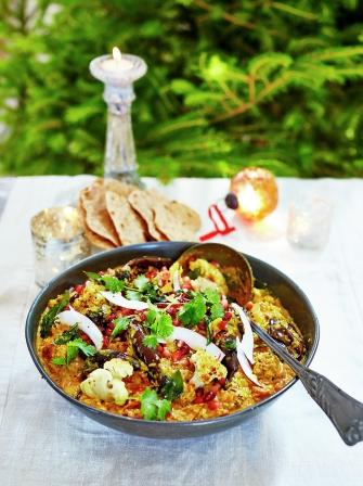 Jamie's Christmas vegan curry