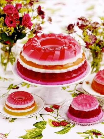 Rainbow Jelly Fruit Recipes Jamie Magazine