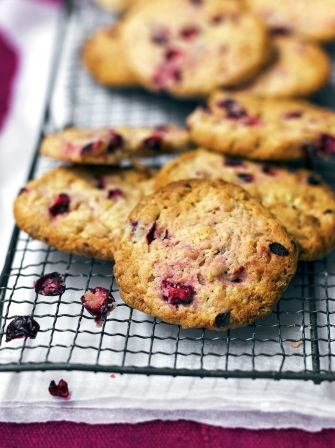 White Chocolate & Cranberry Cookies | Chocolate Recipes | Jamie Oliver