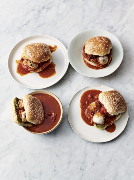 Messy Meatball Buns - Jamie Oliver- Easy Dinner Recipes