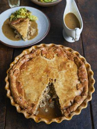 Proper chicken pie