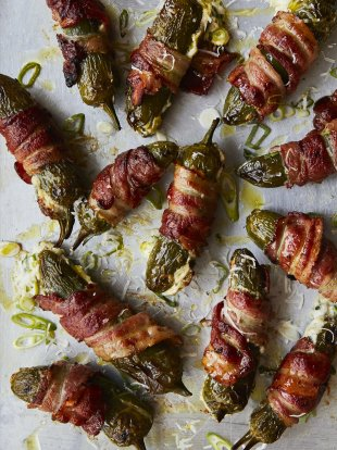 Brilliant bacon-wrapped jalapeño peppers
