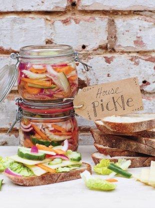 Easy homemade pickle