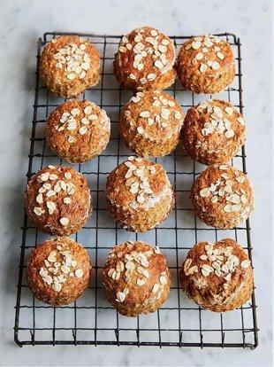 Rye bread scones