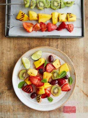 Buddy's grilled fruit salad