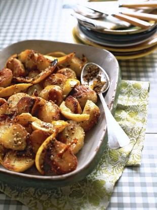 Lemon roast potatoes | Vegetables recipes | Jamie magazine