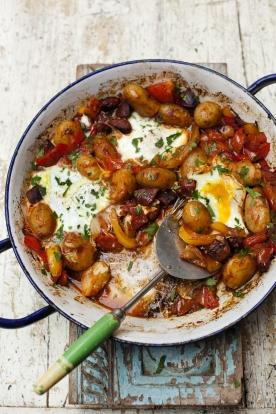 One-pan huevos rancheros | Jamie Oliver egg recipes