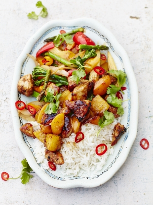 Tom Daley's sweet & sour chicken