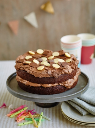 Food Allergy Mums' really chocolatey chocolate cake