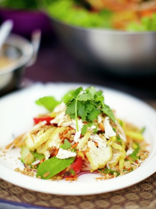 Chicken & green mango Thai salad