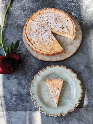 Amalfi lemon tart recipe