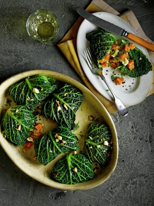 Stuffed Cabbage Rolls Vegetable Recipes Jamie Oliver