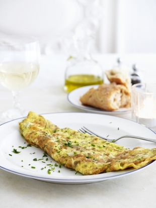 Omelette aux fines herbes