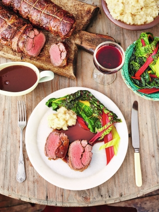 Roast venison | Meat recipes |Jamie Oliver recipes