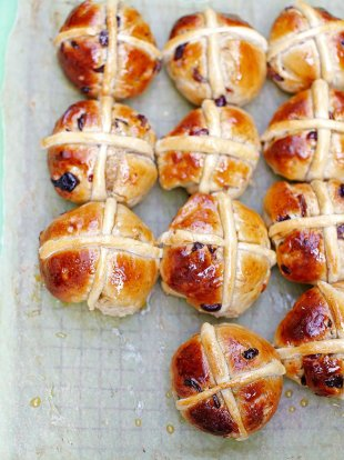 Hot Cross Buns Recipe Jamie Magazine Recipes