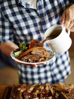 Roast Goose   Game Recipes   Jamie Oliver
