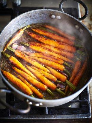 Sweet Glazed Carrots   Vegetable Recipes   Jamie Oliver