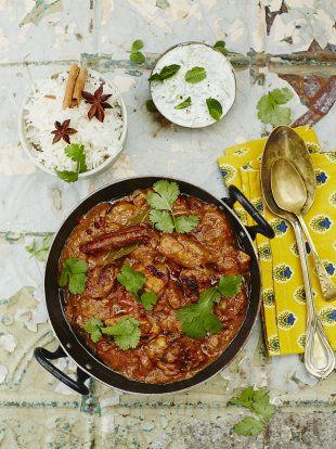 Perfect chicken balti | Chicken recipes | Jamie Oliver recipes