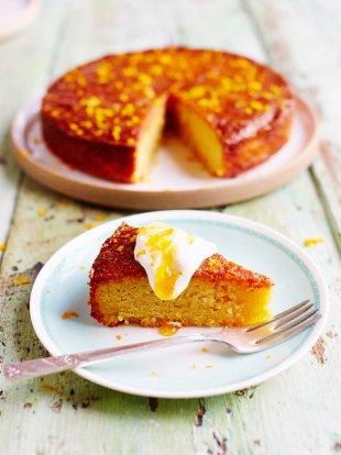 Orange polenta cake | Fruit recipes
