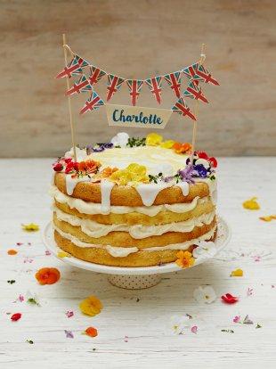 Royal Charlotte Lemon Drizzle Cake