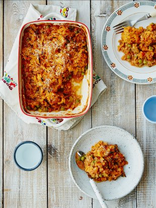 Michela's veg & lentil cottage pie