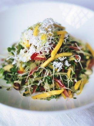 Crunchy Keralan salad
