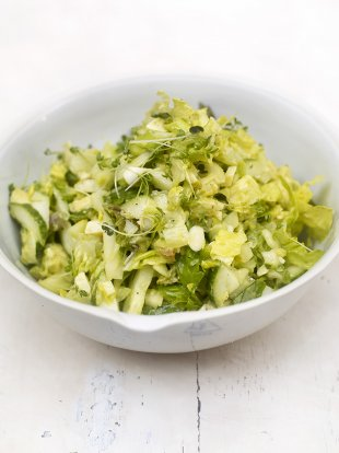 Everyday green chopped salad