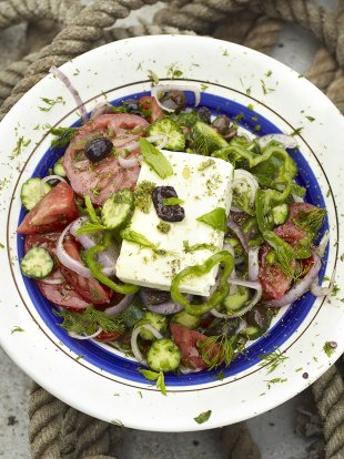 Greek Salad | Vegetables Recipes