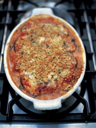 Aubergine Parmigiana   Vegetables Recipes