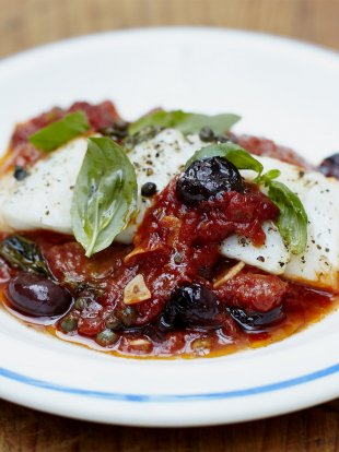 Baked Fish Recipe With Tomato Sauce Jamie Oliver Recipes